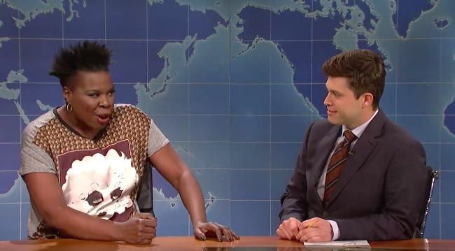 Leslie Jones And Colin Jost Prove That They're Better Together On 'SNL'