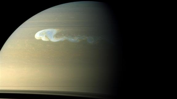 Huge Saturn Storm Keeps Surprising Scientists