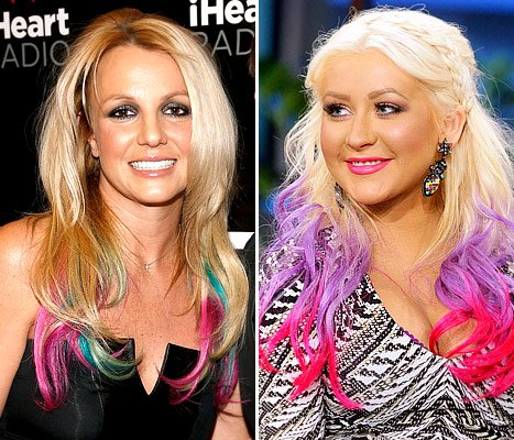 Britney Spears, Christina Aguilera