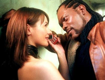 Emily Mortimer and Samuel L. Jackson in Columbia's Formula 51