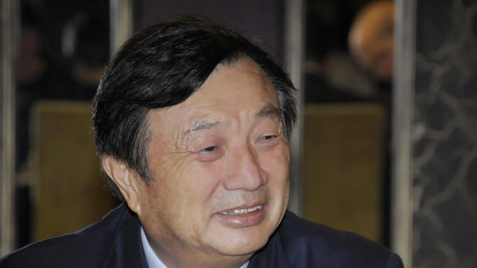 Huawei founder gives first ever media interview