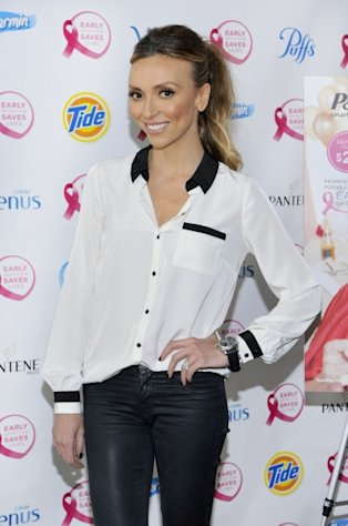 Giuliana Rancic is all smiles at the 'Do It For The Girls!' Day Of Action in New York City on September 20, 2012  -- Getty Premium