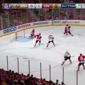 Corey Crawford Save on Andrew Cogliano (02:18/2nd)