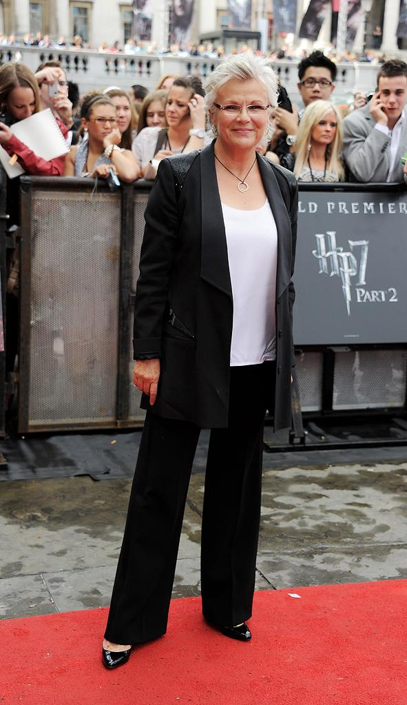 Harry Potter UK Premiere 2011 Julie Walters