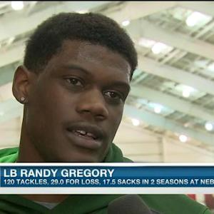 Nebraska linebacker Randy Gregory on pro day: I can always do better