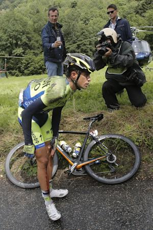 Nibali excels at Tour as Contador crashes out