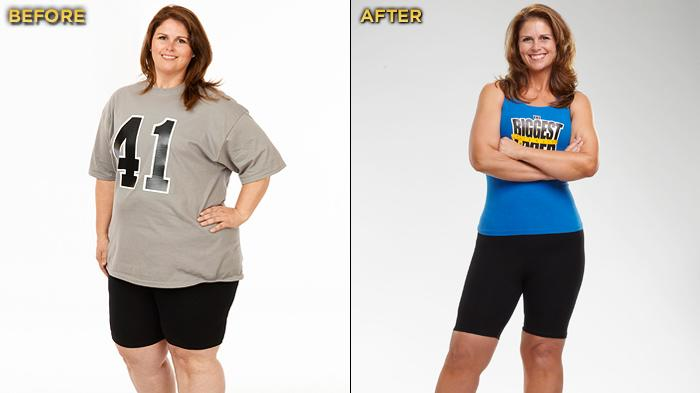 """Biggest Loser"" Season 12's Sunny Sinclair started the competition at 277 lbs. and lost a total of 106 lbs."