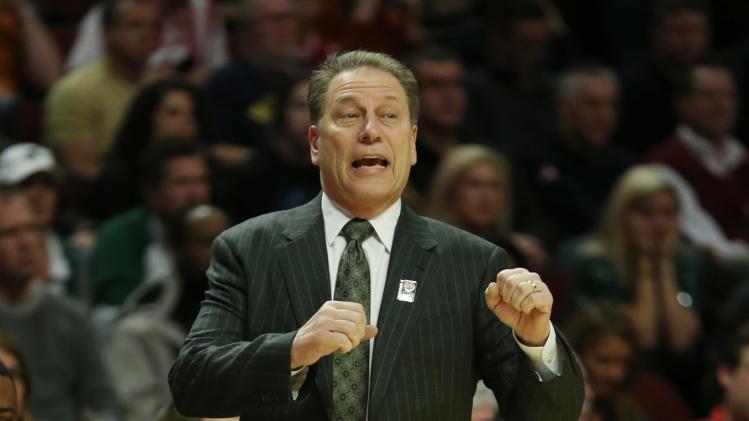 NCAA Basketball: Big Ten Tournament-Ohio State vs Michigan State