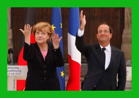 Die heftigen Ben ber &quot;chre Angela&quot; und Hollande