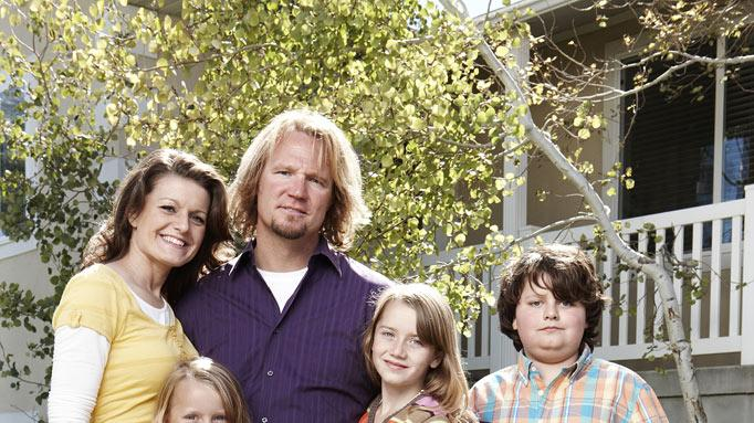 "Robyn, Breanna, Kody, Aurora and Dayton as seen on ""Sister Wives."""