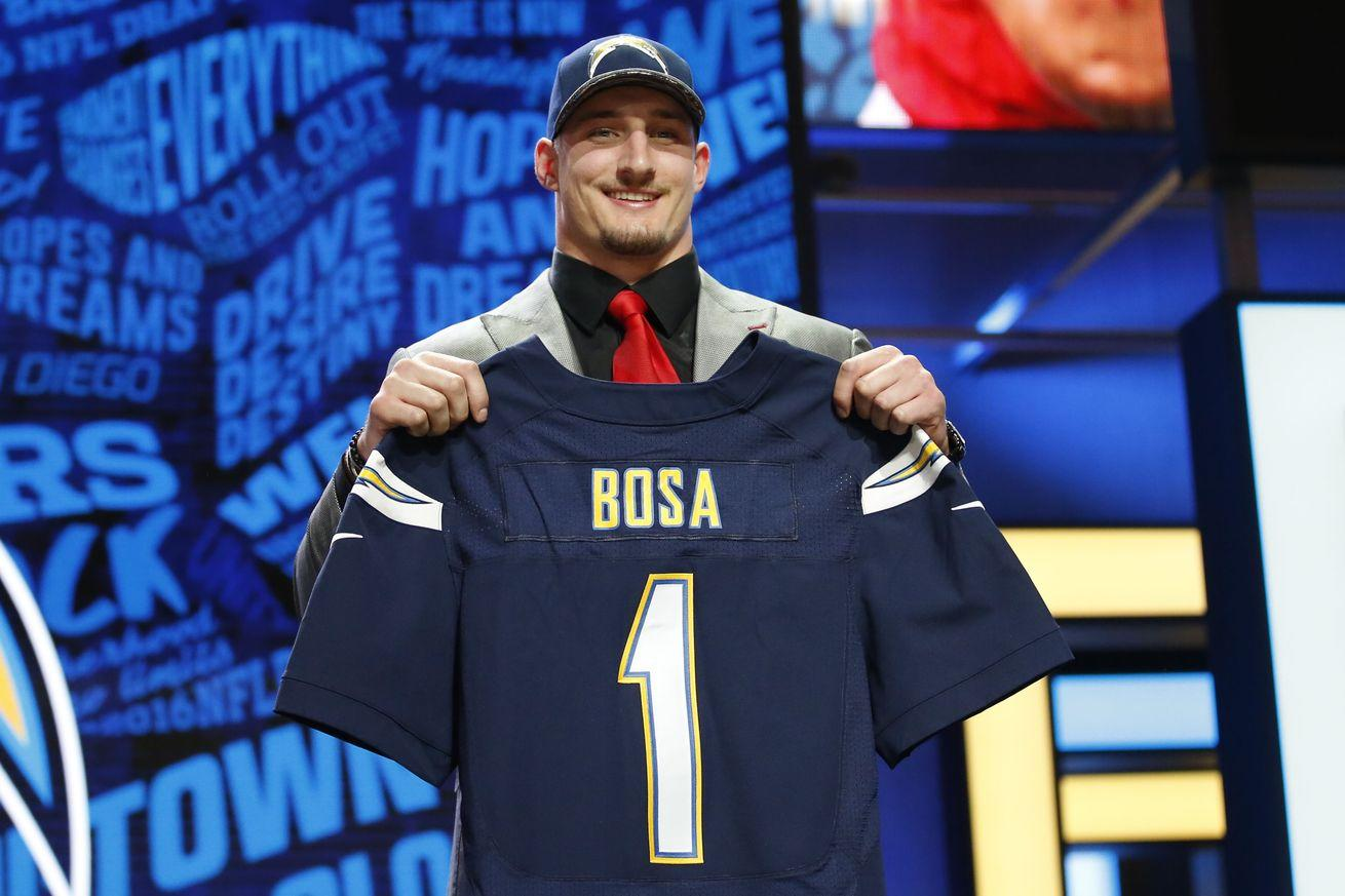 2016 NFL Draft grades: Chargers, Raiders make waves in AFC West