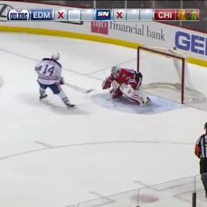 Corey Crawford Save on Jordan Eberle (00:00/SO)