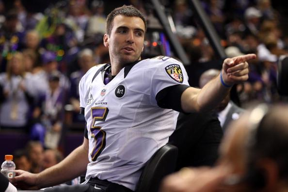 Super Bowl F-Word: Watch MVP Joe Flacco Get Overly Excited on Live TV (Video)