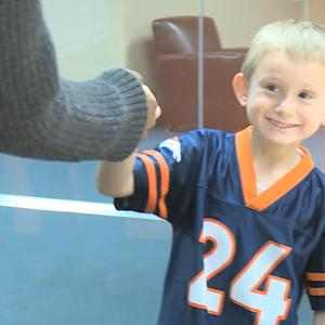Young Denver Broncos fan gets surprise visit