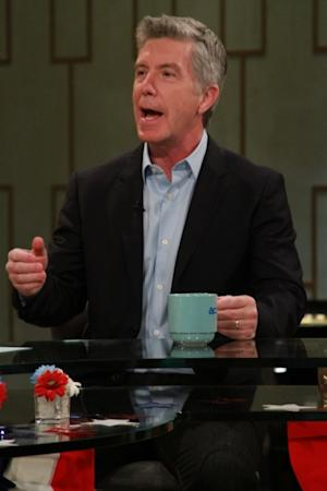 'Dancing With The Stars' host Tom Bergeron visits Access Hollywood Live on November 7, 2012 -- NBC