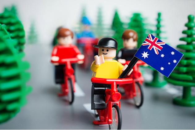 LEGO Re-Creates Australian Top 10 Iconic Moments