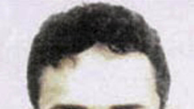FILE - This file photo released by the FBI Thursday, May 15, 2003 shows Fahd al-Quso, who was charged as an al-Qaida member who helped to plan the attack on the USS Cole that killed 17 American sailors in 2000. Yemeni officials say an airstrike has killed a top al-Qaida leader who was wanted in the 2000 bombing of the USS Cole. Local official Abu Bakr bin Farid said Fahd al-Quso was killed Sunday, May 6, 2012 along with an aide in an airstrike in the southern Shabwa province. (AP Photo/FBI, File)