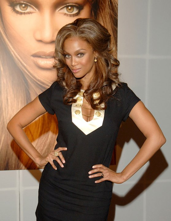 Tyra Banks at The CW Launch Party.