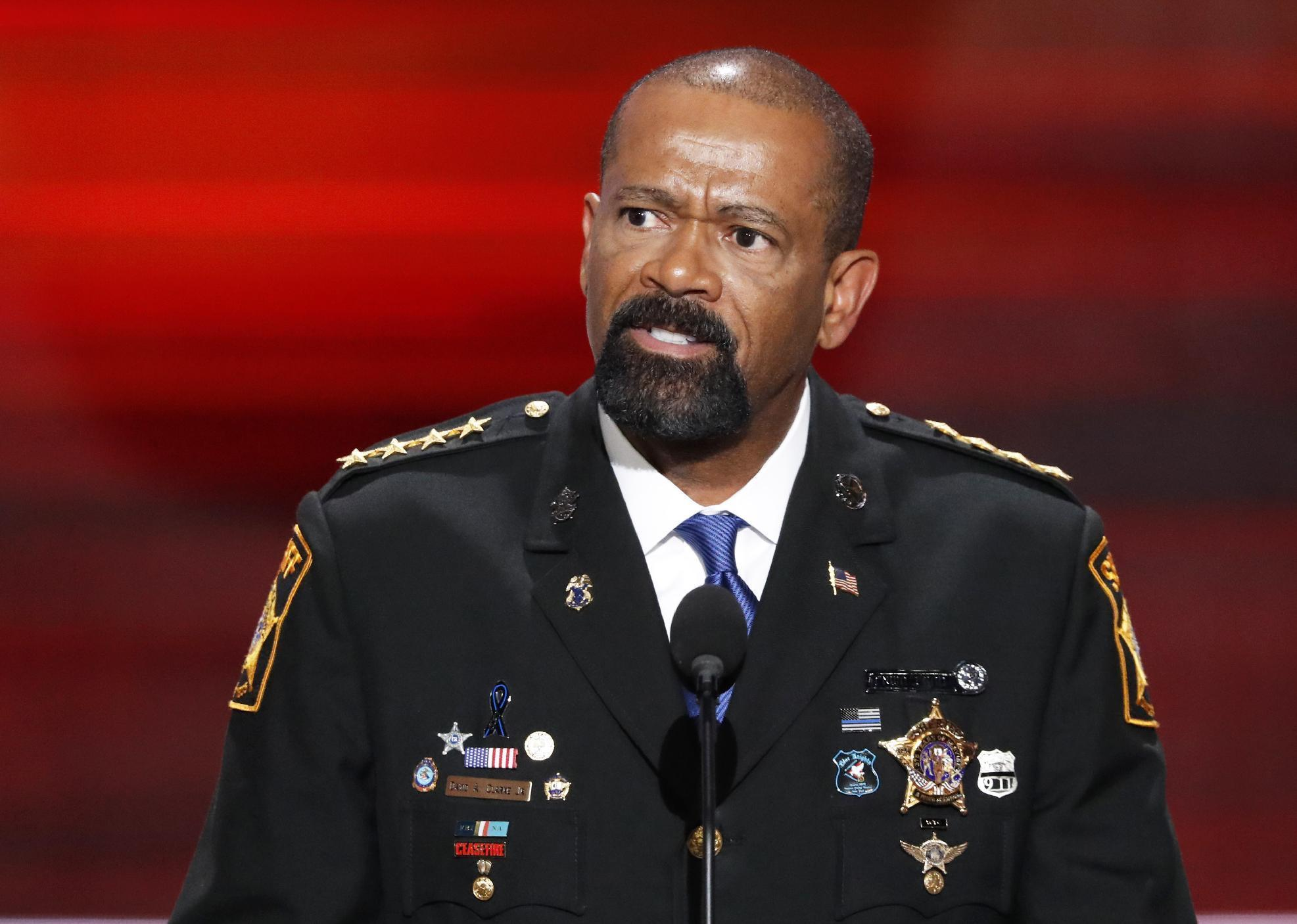 Man says Milwaukee's sheriff detained him for shaking head
