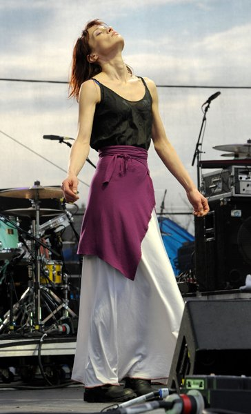 Poised like a Phoenix on the Governor's Ball Music Festival stage in late June, the next chapter of Fiona's career was reborn as she hit the crowd with melody and organic layers of danceable fabric. (