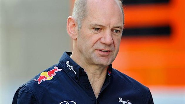 Adrian Newey, Chefdesigner bei Red Bull Racing