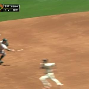 Otero escapes a jam in the 2nd