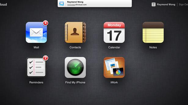 Apple iCloud apps updated with iOS-like notifications