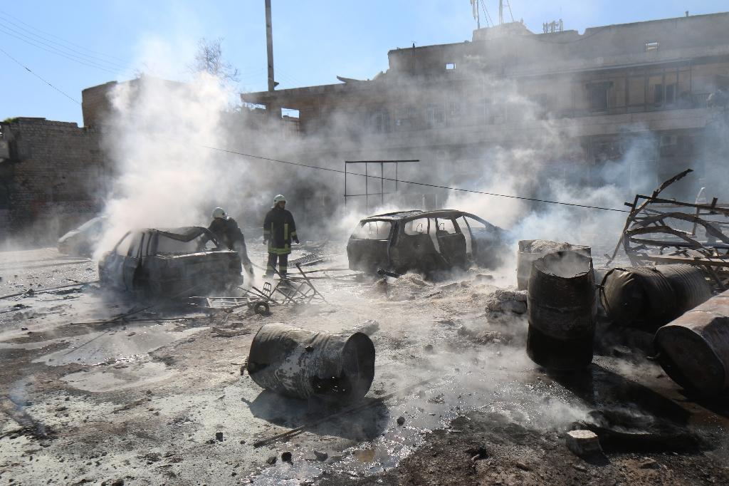 Heavy fighting in Aleppo as opposition eyes 'new strategy'