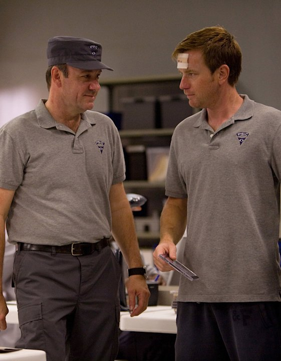 The Men Who Stare at Goats Production Photos 2009 Overture Films Kevin Spacey Ewan McGregor