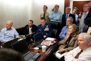 FILE - In this May 1, 2011, image released by the White…