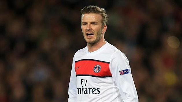David Beckham joined PSG in January