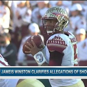 NFL Media Insider Ian Rapoport on Florida State quarterback Jameis Winston clarifying allegations of shoplifting