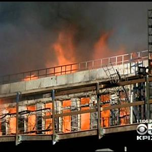 Dozens Forced To Evacuate During San Francisco Mission Bay Fire