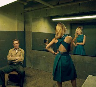Damian Lewis and Claire Danes in Vogue.