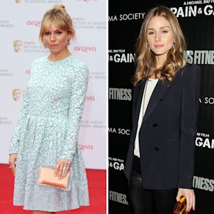 Sienna Miller and Olivia Palermo have both rocked Perspex clutches recently [Rex]