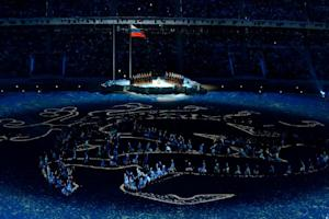 Artists perform during the Opening Ceremony of XI Paralympic…