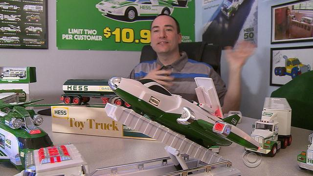 Iconic Hess Toy Truck for young, young at heart