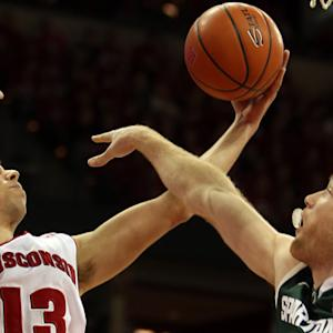 Michigan State at 5 Wisconsin highlights
