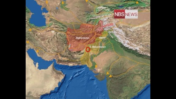 Earthquake of magnitude 5.8 rocks north India‎