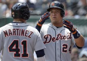 Cabrera homers to lift Tigers over Royals