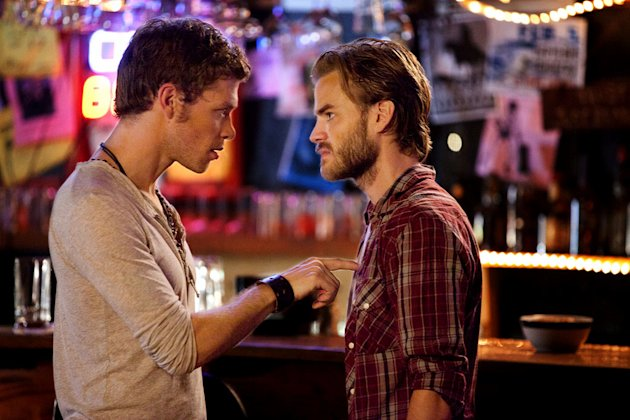 """THE BIRTHDAY ""--LtoR: Joseph Morgan as Klaus and David Gallagher as Ray on THE VAMPIRE DIARIES on The CW. Photo: Bob Mahoney/The CW ©2011 The CW Network. All Rights Reserved. Vampire Diaries"