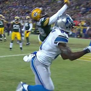 Detroit Lions wide receiver Calvin Johnson fade for 4-yard TD