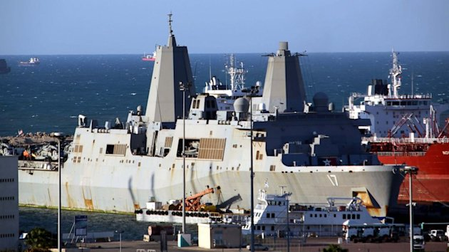 Go Inside the Navy Ship Officials Say Is Holding Al Qaeda Suspect (ABC News)