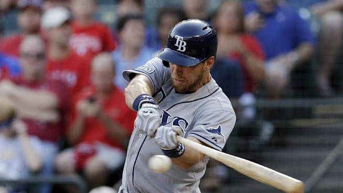Smyly gets 1st win for Rays, 7-0 over Rangers