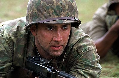 Nicolas Cage as Joe Enders in MGM's Windtalkers