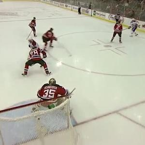 Briere's brilliant feed sets up Gionta score