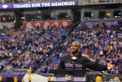 Rise 'n Grind: Adrian Peterson is still mad at the Vikings