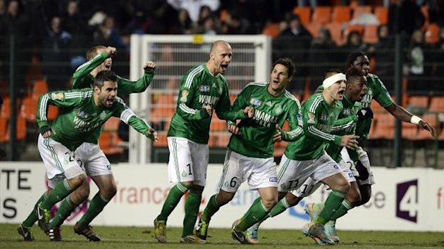 FOOTBALL 2012-13 Saint-Etienne-Lille