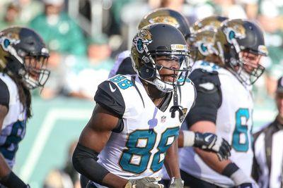 Jaguars WR Allen Hurns stretchered off with head injury
