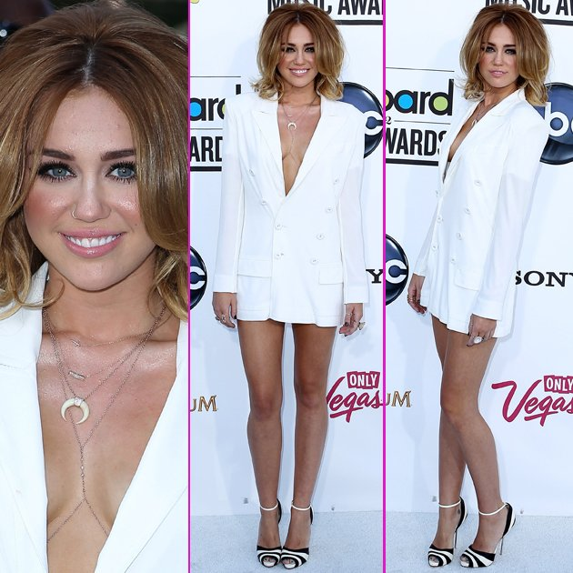 Miley Cyrus bared plenty of flesh at the Billboard Awards. Copyright [WENN]